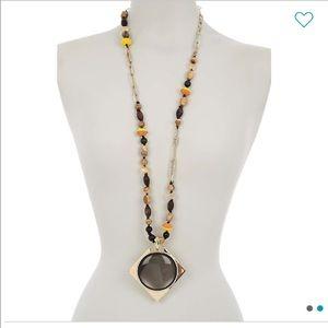 NEW • Alexis Bittar • Geo Pendant Necklace Women's